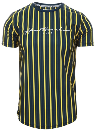 Heartbreaker Club Black Garner Stripe T-Shirt  - Click to view a larger image