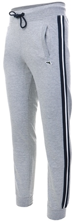 Le Shark Grey Fenton Side Tape Joggers  - Click to view a larger image