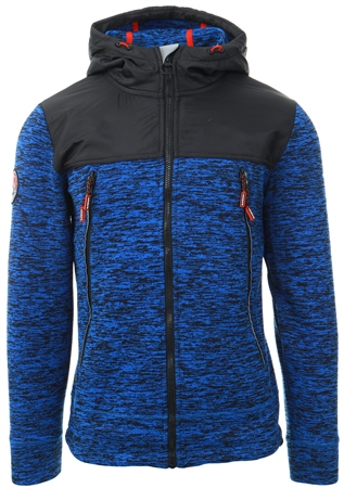 Superdry Cobalt Mountain Tech Ziphood  - Click to view a larger image
