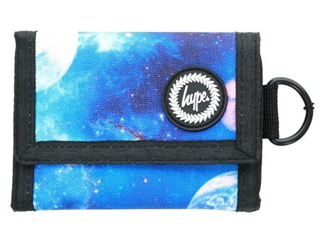 Hype Blue Milky Way Trifold Wallet  - Click to view a larger image