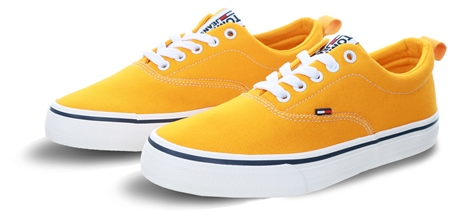 Hilfiger Denim Radiant Yellow Classic Trainers  - Click to view a larger image