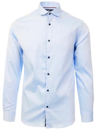 Jack & Jones Blue / Cashmere Slim Fit Shirt  - Click to view a larger image