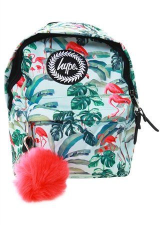 Hype Flamingo Paradise Mini Backpack  - Click to view a larger image