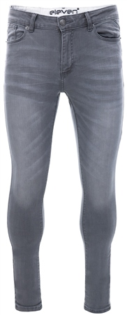 11degrees Grey Essential Skinny Jeans  - Click to view a larger image