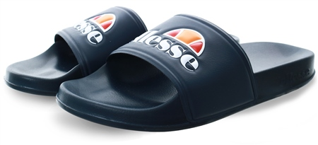 Ellesse Navy Filippo Logo Slide  - Click to view a larger image