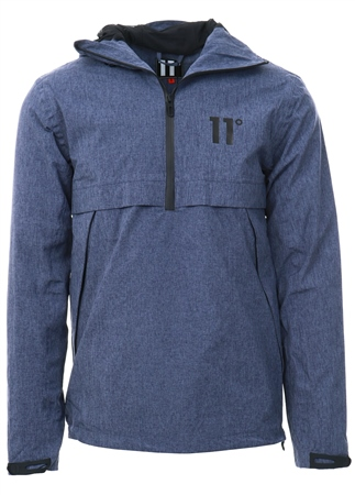 11degrees Chambury Blue Waterproof Hurricane Jacket  - Click to view a larger image