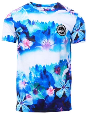 Hype Multi Midnight Forest Print T-Shirt  - Click to view a larger image