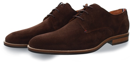 Tommy Jeans Coffee Bean Essential Suede Shoe  - Click to view a larger image