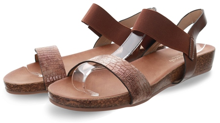 Dv8 Brown Platform Sandals  - Click to view a larger image