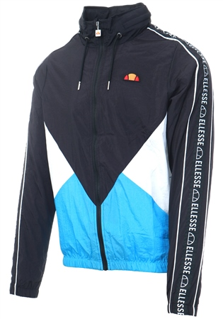 Ellesse Black Paccio Zip Up Track Top  - Click to view a larger image