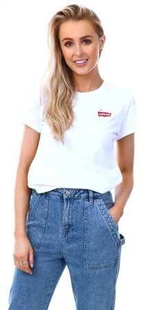 Levi's ® White - White X Peanuts Perfect Graphic Tee  - Click to view a larger image