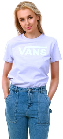 2f65037de0553 Vans Evening Haze Flying V Crew T-Shirt | | Shop the latest fashion ...