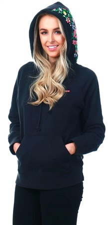 Levi's Blackwell Hoody - Black Graphic Sport Hoodie  - Click to view a larger image