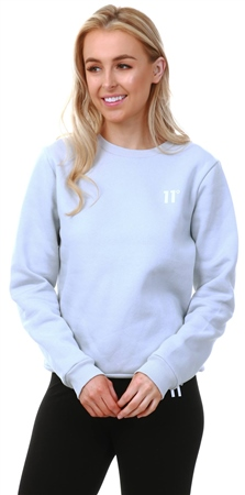 11degrees Grey Core Sweatshirt  - Click to view a larger image