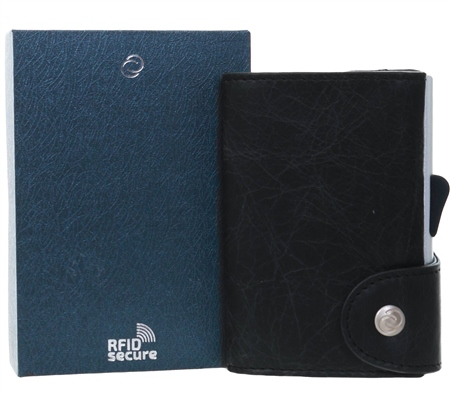 C Secure Blackwood Single Wallet  - Click to view a larger image