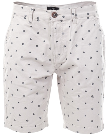 Threadbare Stone Cottrill Pattern Short  - Click to view a larger image