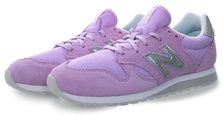 New Balance Violet Glo With White 520 Trainer  - Click to view a larger image