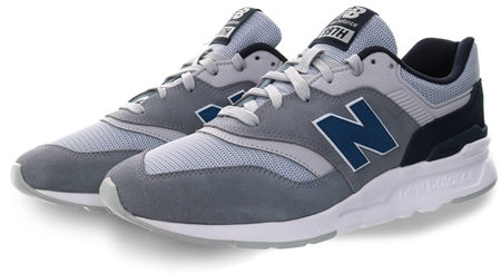 New Balance Grey 997h Lace Up Trainer  - Click to view a larger image