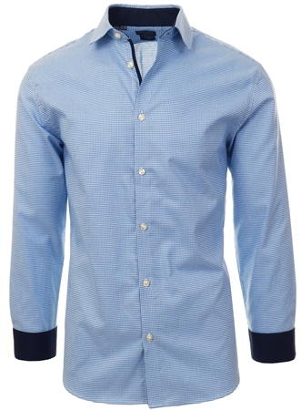 Selected Skyway Checked Slim Fit Shirt  - Click to view a larger image