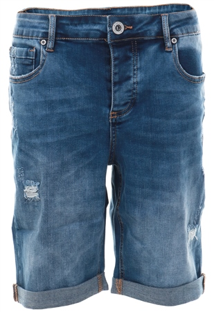 Kings Will Dream Dstnwash Romer Ripped Shorts  - Click to view a larger image