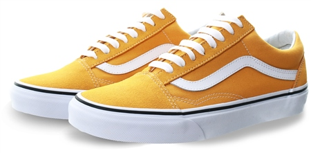 Vans Yolk Yellow Old Skool Shoes  - Click to view a larger image