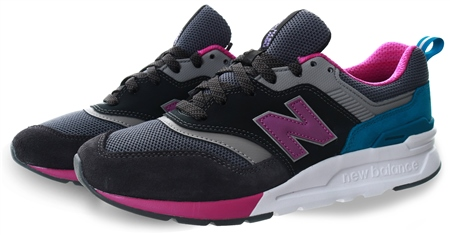 New Balance Black 997h Lace Up Trainer  - Click to view a larger image