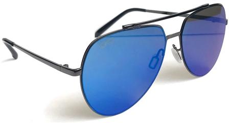 Raymond B Mutli /Blue Aviator Sunglasses  - Click to view a larger image