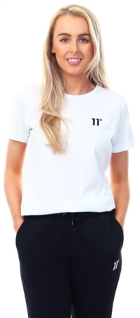 11degrees White Core T-Shirt  - Click to view a larger image