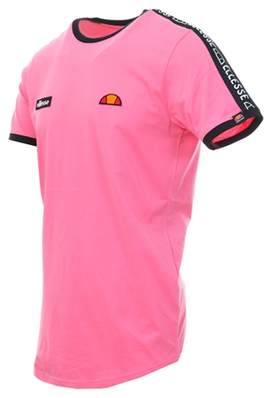 Ellesse Pink Fede Short Sleeve T-Shirt  - Click to view a larger image