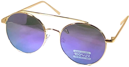 Raymond B Multi Aviator Two Tone Sunglasses  - Click to view a larger image