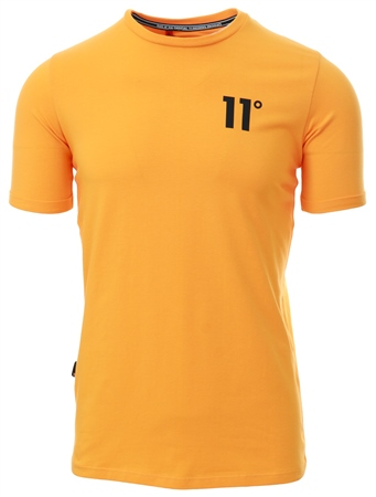 11degrees Yellow Core Muscle Fit T-Shirt  - Click to view a larger image