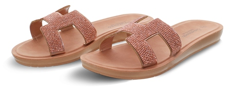 Dv8 Rose Gold Slip On Sandal  - Click to view a larger image