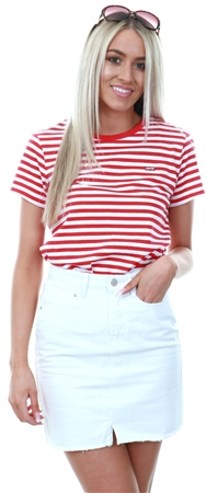 Levi's Lychee - Neutral Perfect Tee  - Click to view a larger image