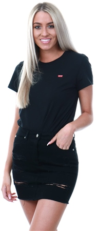 Levi's Mineral Black - Black Perfect Tee  - Click to view a larger image
