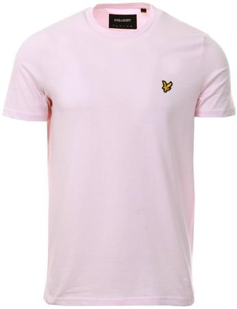 Lyle & Scott Strawberry Cream Plain T-Shirt  - Click to view a larger image