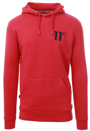 11degrees Inferno Core Pull Over Hoodie  - Click to view a larger image