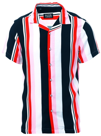 Alex & Turner Multi Short Sleeve Shirt  - Click to view a larger image
