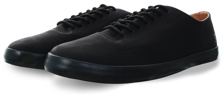 Farah Black Kiln Lace Up Trainer  - Click to view a larger image