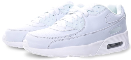 No Doubt White Platfrom Lace Up Trainer  - Click to view a larger image