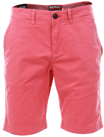 Superdry Promegranite International Slim Chino Lite Shorts  - Click to view a larger image