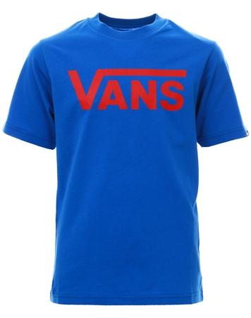 3bf59f92420e0 Vans Royal Blue Classic Short Sleeve T-Shirt | | Shop the latest fashion  online @ DV8