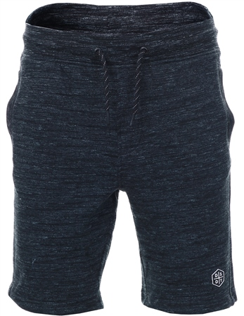 Dissident Black Jersey Fleece Shorts  - Click to view a larger image
