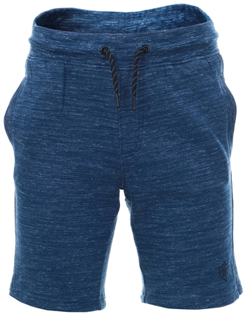 Dissident Blue Jersey Fleece Shorts  - Click to view a larger image