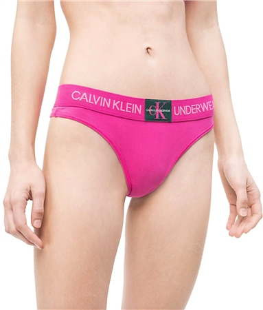 Calvin Klein Thrill Thong - Monogram  - Click to view a larger image