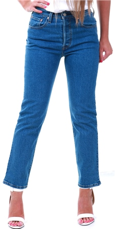 Levi's ® Jive Stonewash 501 Crop Jeans  - Click to view a larger image