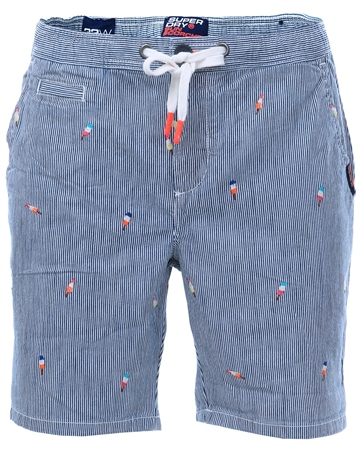 Superdry Ice Lolly Aoe Stripe Sunscorched Shorts  - Click to view a larger image