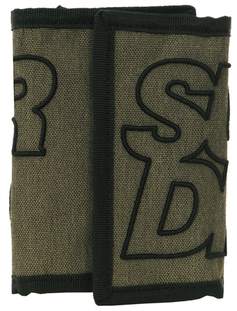 Superdry Green Academic Bi-Fold Wallet  - Click to view a larger image