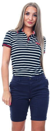 Superdry Navy Chino City Shorts  - Click to view a larger image