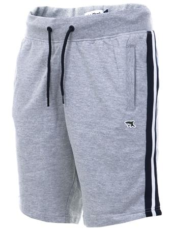 8dd459bfc2a Grey Side Panel Stripe Shorts - S