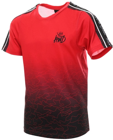 Kings Will Dream Red Junior Newland T-Shirt  - Click to view a larger image